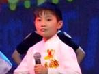 麓山国际小学黄时雨现场表演《说唱脸谱》