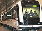 南车株机:出口欧洲轻轨列车下线