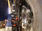 长沙首台隧道挖掘机开挖 地铁2号线预计2013年运行