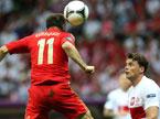 欧洲杯:各入一球 俄罗斯波兰握手言和